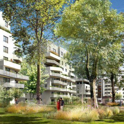 Oasis Parc - Réalisation Vinci Immobilier  à Lyon dans le Rhône